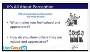 Language of appreciation